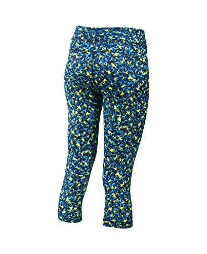 Under Armour HG Printed Capri Dynamo Blue/Black