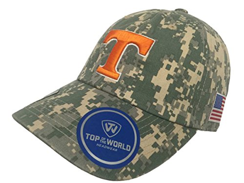 Tennessee Volunteers TOW Digital Camouflage Flagship Adjustable Slouch Hat (Tennessee Volunteers Camo)