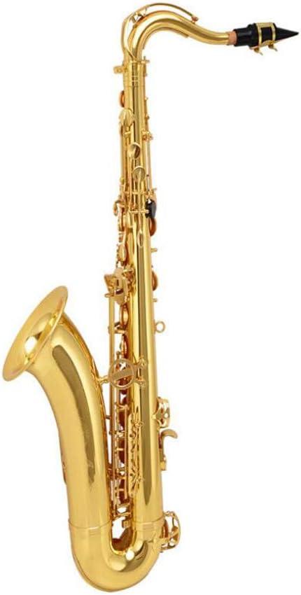LVSSY-Saxofón Tenor Kit Completo,Saxo Alto,Estuche, Boquilla,Correa para El Cuello Y Muchos Más: Amazon.es: Deportes y aire libre