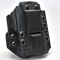 Werkz M6 Holster for Glock 19 / 19x / 23/32 / 45 Gen 3/4/5 with Olight PL-Mini Valkyrie (Ambidextrous, Right)