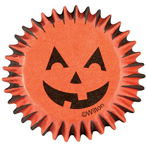(Wilton Baking Cups, Mini, Jack-O-Lantern,)