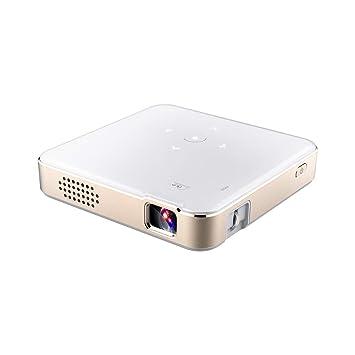 HUBI Mini proyector, Pico Proyectores WiFi portátil Teléfono ...