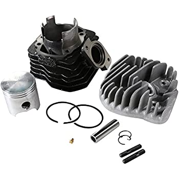 Polini 119.0077 - P1190077 Contessa 72cc Big Bore Kit For Honda Dio / Elite AF16 Motor