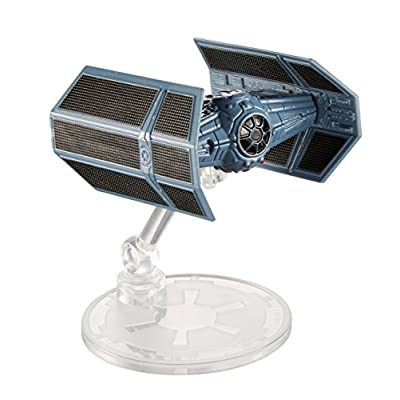 Hot Wheels Star Wars Darth Vader's Tie Fighter Vehicle