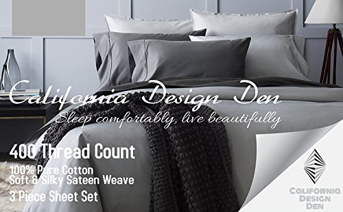 California-Design-Den-400-Thread-Count-Sheet-Set-100-Long-staple-Cotton
