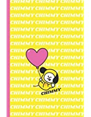 CHIMMY: BT21 Notebook for School | 120 Pages 6'' x 9'' Lined Journal | Perfect for BTS Fans ARMY