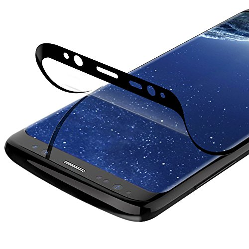 VIUME Galaxy S8 Plus Screen Protector, [Case Friendly] [No Tempered Glass] Soft 3D Full Coverage Screen Protector Film Samsung Galaxy S8 Plus / S8+ (Clear)