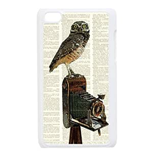 Different Dictionary Hipster Owl Vintage Retro Ipod Touch 4 Case Dictionary Owl Cover Ipod 4 by icecream design