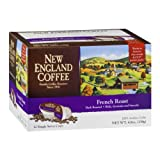New England Coffee French Roast Single Serve Cups - 12 CT