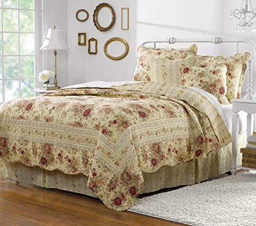 Greenland Home® Antique Rose 5-pc. Bonus Quilt Set