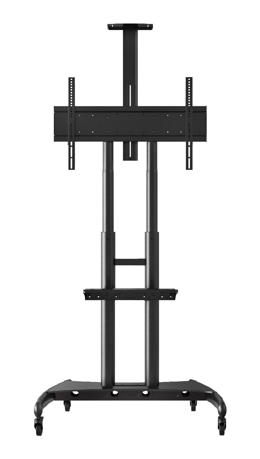 Luxor FP4000 Adjustable Height Large TV Mount designed for a 40'' - 90'' Flat Panel TV by Luxor