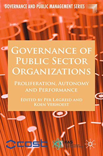 Download Governance of Public Sector Organizations: Proliferation, Autonomy and Performance (Governance and Public Management) Pdf