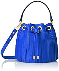 MILLY Essex Fringe Mini Fringed Cross-Body Bucket Bag