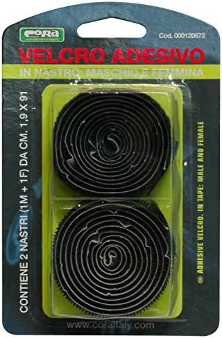 1.9 X 91 cm Cora 000120672 Velcro Roll Male Female plus