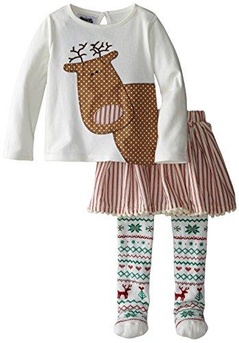 Mud Pie Little Girls Reindeer