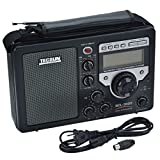 Niceshop® Brand New Black Color BCL3000 AM FM SW Radio Full Band World Band Radio Receiver LCD Display Portable Radio built-in speaker