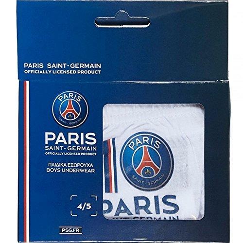 Set de 3 Bragas Slips Paris Saint Germain para niño Azul PS03001
