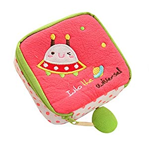 Gotoole Women Cotton Cartoon Sanitary Napkin Bag Tampon Sanitary Pad Holder Bag