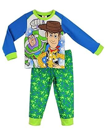 Disney Character Boys Toy Story Buzz Amp Woody Pajamas Size