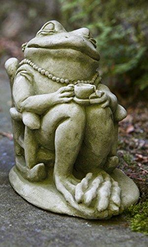 Campania International A-398-VE Tea Statue, Verde Finish