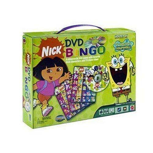 Nickelodeon Dvd Bingo Game (Nickelodeon DVD Bingo by)