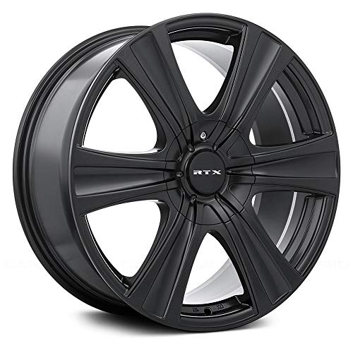 RTX Aspen, 17X8, 5X114.3/127, 35, 73.1, Black 081766 (Mazda Cx 5 17 Or 19 Inch Wheels)
