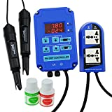Digital pH ORP 2 in 1 Controller with Separate Relays for pH and ORP