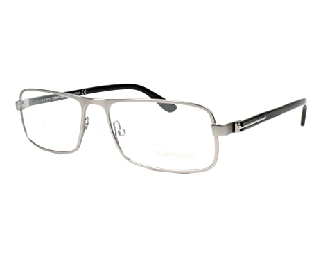 cec901aad6c Image Unavailable. Image not available for. Color  Tom Ford Rx Eyeglasses - TF5201  Silver   Frame only ...