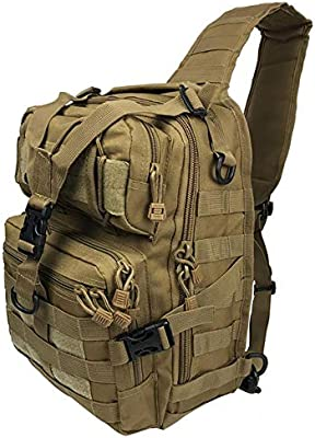BAIGIO Mochila Militar T/áctica Mochilas Molle Acampada Camping Senderismo Deporte Backpack de Asalto Patrulla
