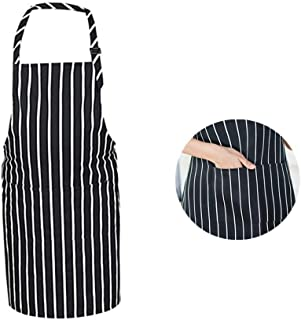 Red Cooking Aprons Chef Apron,Red Professional Chef Kichen Apron with Two Pockets for Baking,Grilling and Bar BQ Restaurant,Mother's Day,Chrismas Gift 29.52 * 30.3' (2pcs Red)