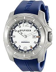 Tommy Hilfiger Mens 1791113 Cool Sport Analog Display Quartz Blue Watch