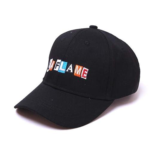 aea53cd97d WENSY Baseball Cap, Men and Women Color Embroidery Letter Cap Visor Summer  Beach Hat Retro