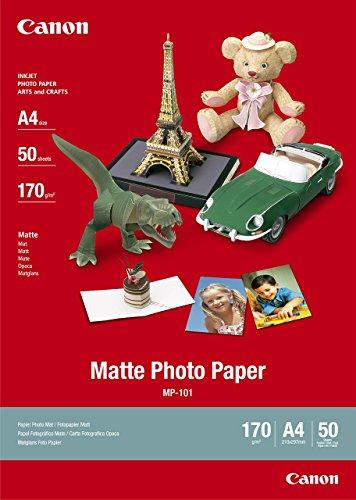 Canon Matt Photo Paper A450-Shetts, 7981A00550-Shetts