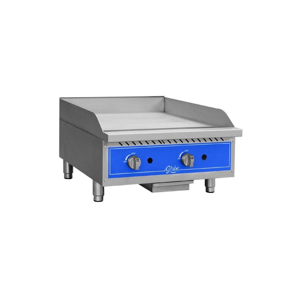 Table Top king GG24G 24'' Countertop Gas Griddle - 60,000 BTU - Restaurant Equipment