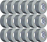 Double Bond Real Thick (11 Mil) Duct Tape 1118, Silver, 1.88 inch x 35 Yards, Case of 18 Rolls