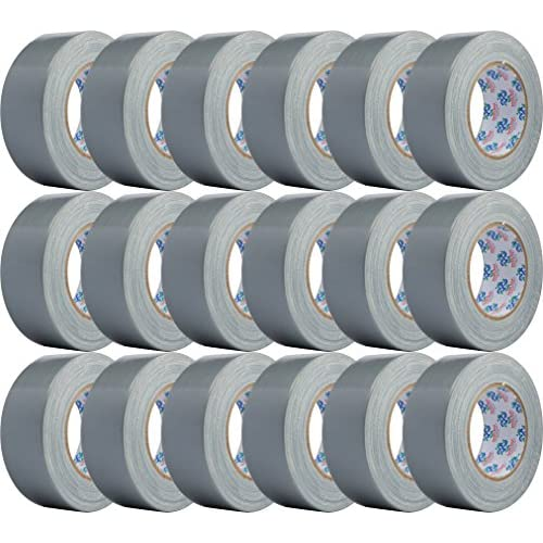 30%OFF Double Bond Professional Grade Duct Tape 1118, Silver, 48mm x 32m (1.88 Inch x 35 Yards), 11mil Thick (Case of 18 Rolls)