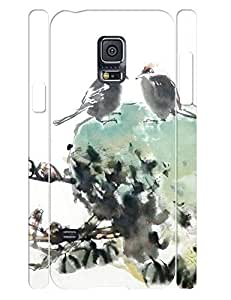 Cool Custom Girly Chinese Painting Theme Tough Cell Phone Dust Proof Case for Samsung Galaxy S5 Mini SM-G800