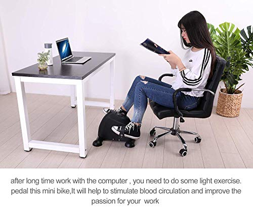 TODO Pedal Exerciser Medical Peddler for Leg Arm and Knee Recovery Exercise with LCD Monitor