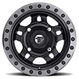 fuel anza wheels - Fuel Anza 15x7 ATV/UTV Wheel - Matte Black (4/156) 4+3 [D5571570A544]