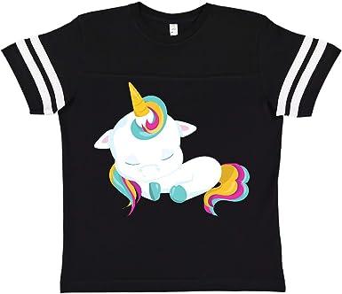 Rainbow Mane Toddler T-Shirt inktastic Sleeping Baby Unicorn Cute Unicorn