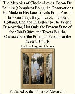 document memoirs charles lewis baron pollnitz