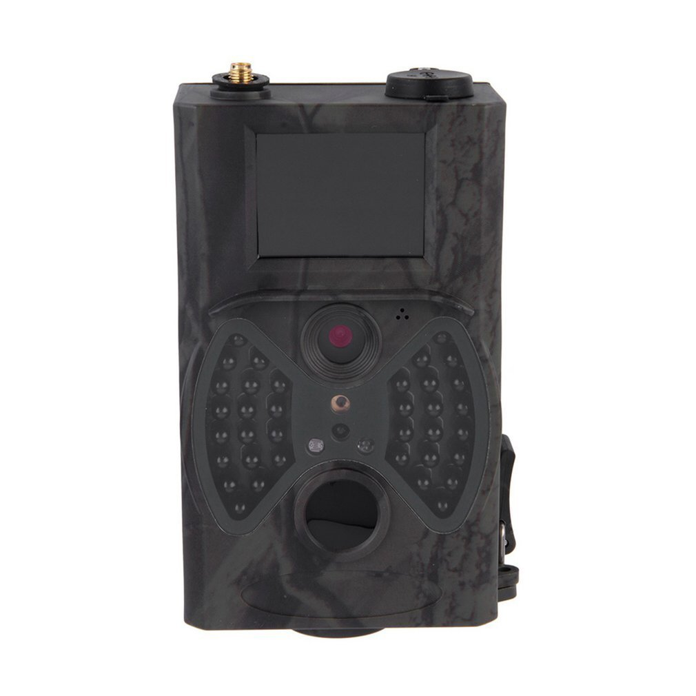 'HC300M 12MP Full HD 1080p cámara de caza de Wild Cámara, MMS GPRS infrarrojos de parte trasera cámara cámara PIR Sensor de movimiento, visión nocturna impermeable cámara de seguridad con 2.0Pantalla LCD Blackpoolal