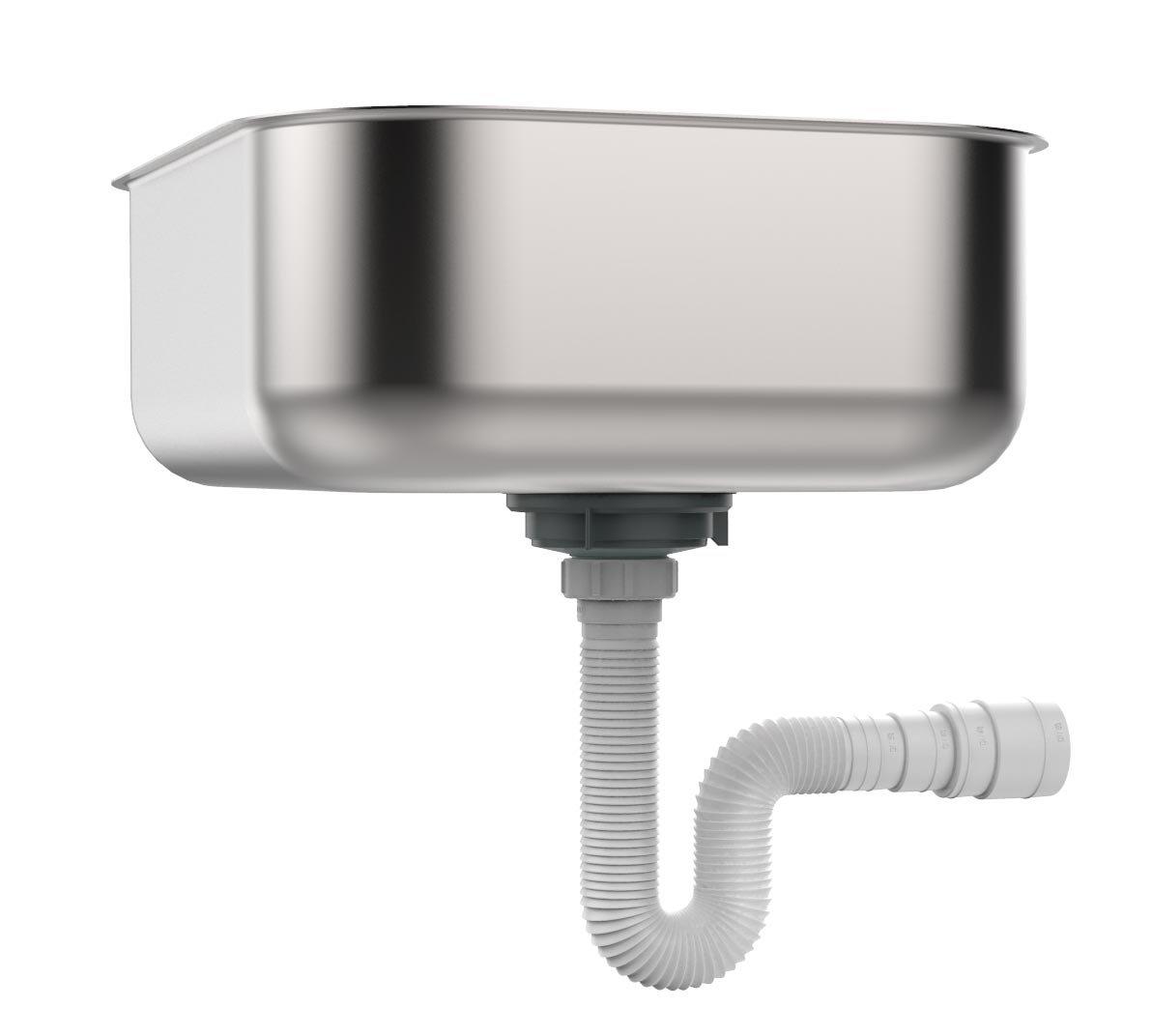 """EasyDrain 030703-4100 UNIVERSAL PTRAP - Expandable & Flexible 1-1/2"""" drain"""