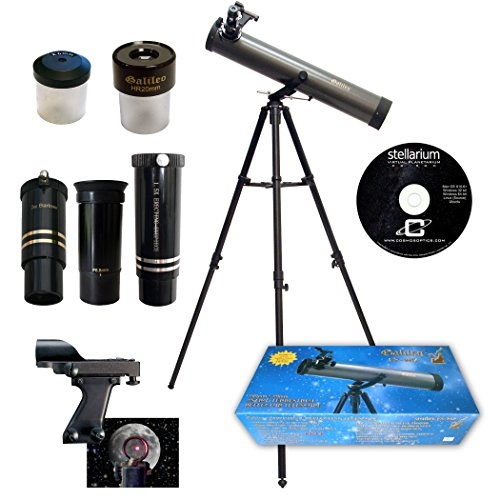 Galileo 800mm x 80mm Astronomical Telescope Kit with for sale  Delivered anywhere in USA