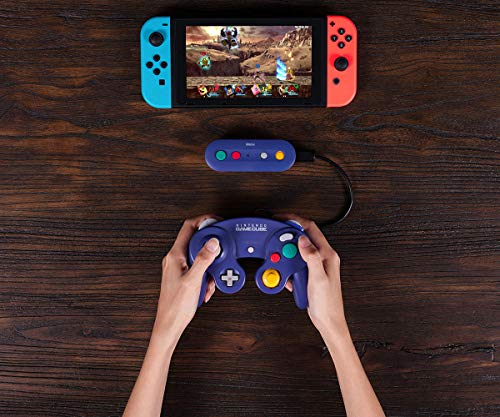 51LPQen%2BhaL - 8Bitdo Gbros. Wireless Adapter for Nintendo Switch (Works with Wired GameCube & Classic Edition Controllers) - Nintendo Switch