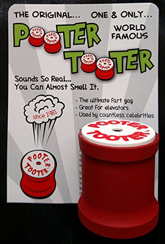 POOTER TOOTER The Original Since 1981. Sounds so real...You can almost smell it.]()