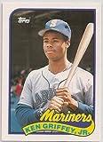 1989 Topps Traded KEN GRIFFEY JR #41T Mariners NRMT-MINT