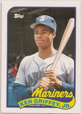 - 1989 Topps Traded KEN GRIFFEY JR #41T Mariners NRMT-MINT