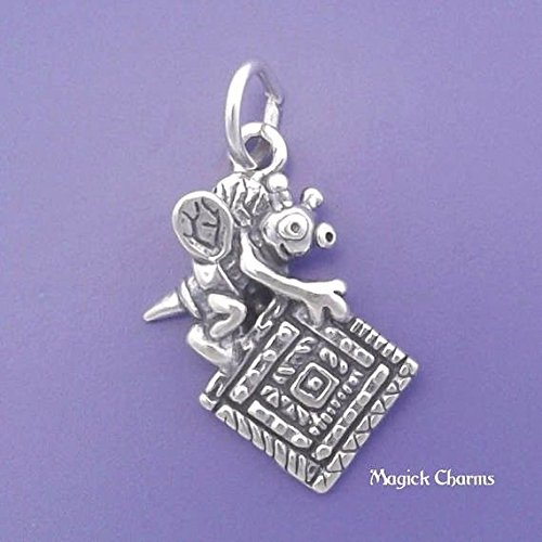 925 Sterling Silver Quilting BEE Quilting Sewing Charm