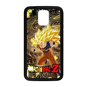 Personality customization Dragon Ball Z Son Goku Pattern Image Case Cover Hard Plastic Case for Samsung Galaxy S5 i9600 Regular At LINtt Cases